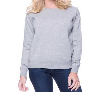 Ladies Full Sleeve Cotton T-Shirt