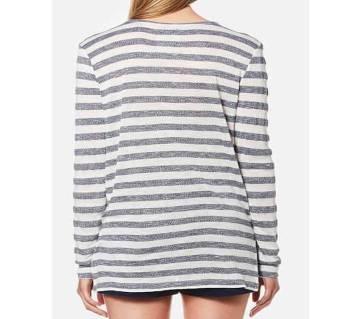 Ladies Full Sleeve Cotton T-Shirt