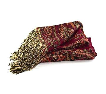 Ladies Multicolor Plain Shawl