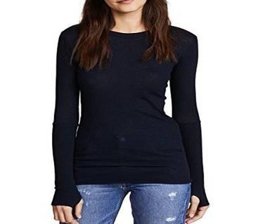 Full Sleeve Cotton T-Shirt For Women