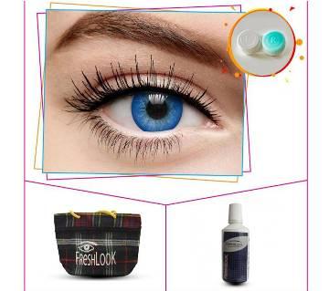 Blue 2 Tone Color Contact Lens