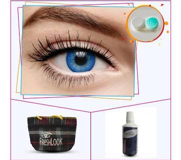 Blue 3 Tone Color Contact Lens