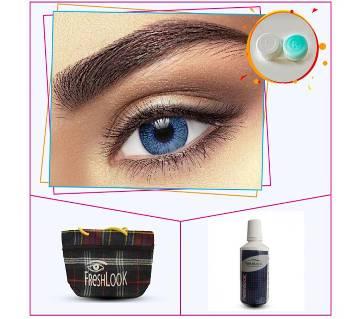Blue 3 Tone Eye Contact Lens
