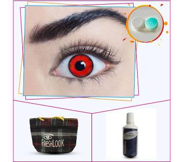 Fresh Look Contact Lens -Red