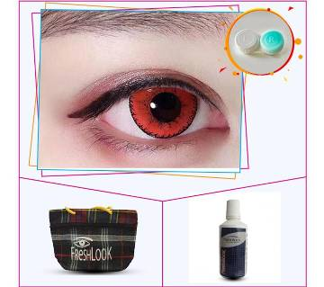 Red Color Contact Lens