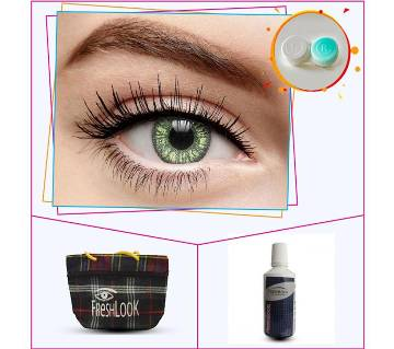 Fresh Look Sterling Gray 3 contact lens