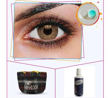 Fresh Look Contact lens- Snow White Brown