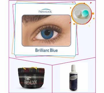 Fresh Look Contact lens- Brilliant Blue