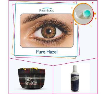 Pure Hazel Color Contact Lens From Fresh Look