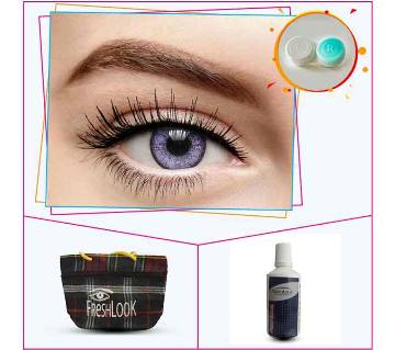 Purple Color Contact Lens From Fresh Look