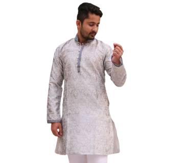 Silver Punjabi For Men