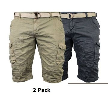 Pack Of 2 Quarter Pant For Men