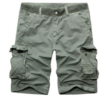 Olive 2 Quarter Pant For Men