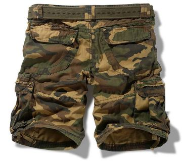 Army Printed Quarter Pant For Men