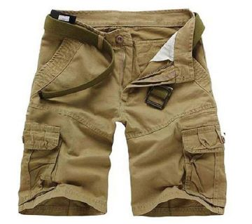 Quarter Pant For Men -Brown