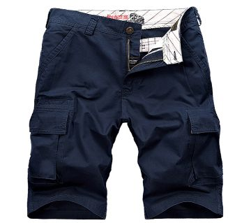 Navy Blue 2 Quarter Pant For Men