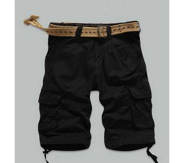 Black 2 Quarter Pant For Men