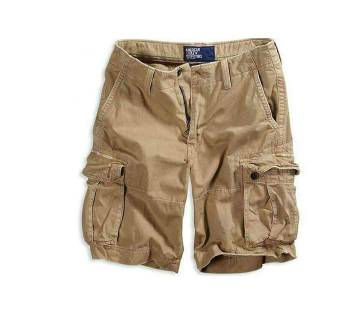 Mens Quarter pant -Light Brown