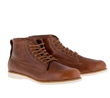 Gents Leather Casual Lace Ups Shoe