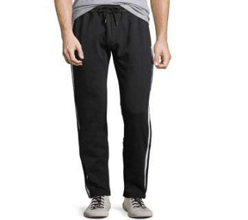 Black Cotton Trouser For Men