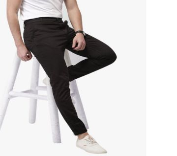 Black Formal Pant For Men