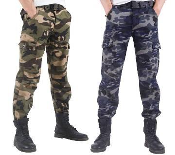 Menz Army Pant - Combo of 2 Pcs