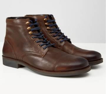 Maverick Dark Brown Suede Casual Boot for Men