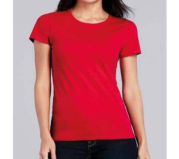 Ladies Stitched Cotton T-Shirt
