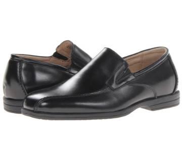 Black Leather formal Shoe For Men