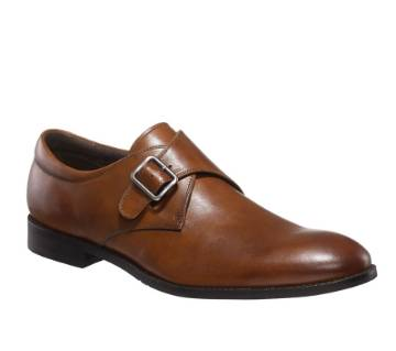 Brown Leather Casual Shoe for Men
