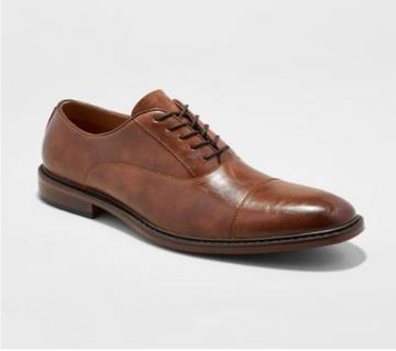 Brown Leather Formal Shoe for Men