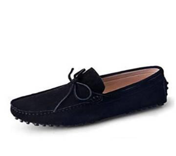 Black Synthetic Loafer For Men