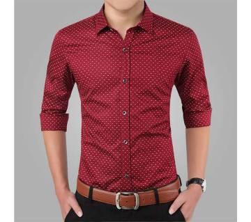Mens Full Sleeve Formal Cotton Shirt