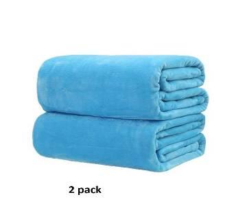 Pack of 2  Microfiber Blanket - (60 x 80