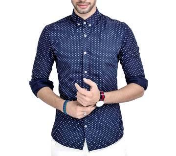Mens Full Sleeve Cotton Shirt