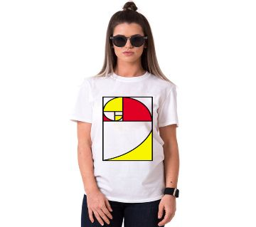 Cute Nerd Ladies Half Sleeve Cotton T-Shirt