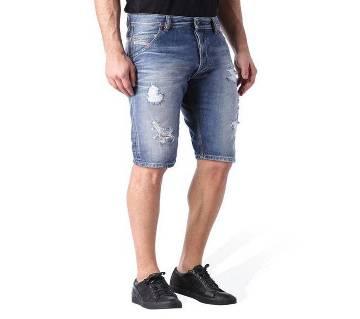 Denim Two Quarter Pants for Men