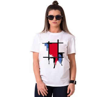 Decorate Ladies Half Sleeve Cotton T-Shirt