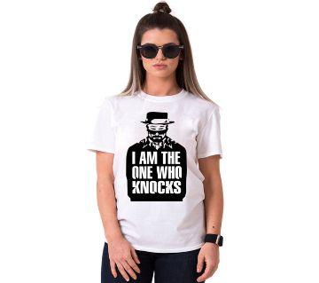 Knocks Ladies Half Sleeve Cotton T-Shirt