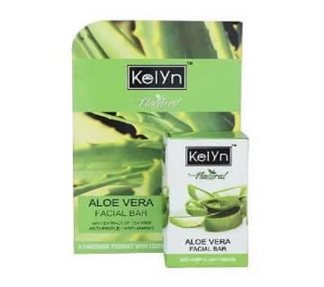 Kelyn Natural Facial Bar Aloe Vera 25GM INDIA