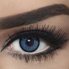 Bella Contact Lenses Highlight Blue