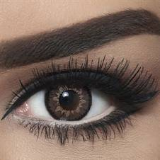 Bella Contact Lenses Highlight Circle Brown