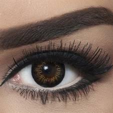Bella Contact Lenses Snow White Brown