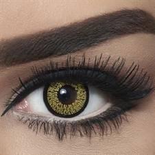 Bella Contact Lenses Highlight Gold
