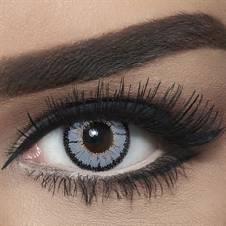 Bella Contact Lenses Highlight Circle Gray