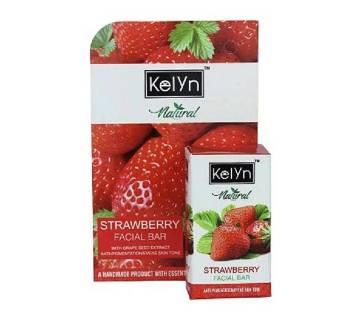 Kelyn Natural Facial Bar Strawberry 25g India
