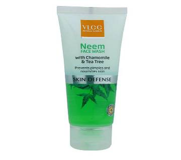 VLCC Neem Face Wash with Chamomile and Tea Tree -50ml India