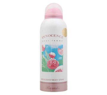 INNOCENCE WOMEN  Body Spray 200ml - UAE