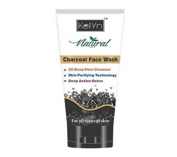 Kelyn Natural ফেস ওয়াস - Charcoal 50g India