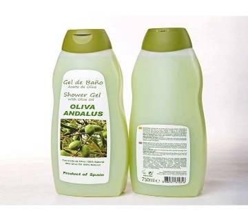 Oliva Andalus Shower Gel 750ml Spain